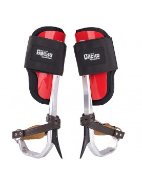 Tree Climbers Gecko Aluminum With Straps (various sizes)