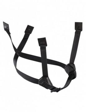 Dual Chinstrap (Vertex / Strato - Black)