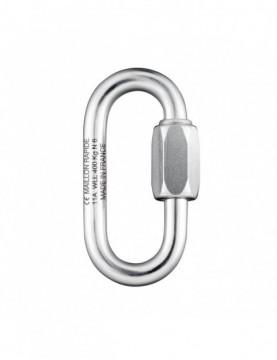 Zinc Plated Steel - Oval 6mm
