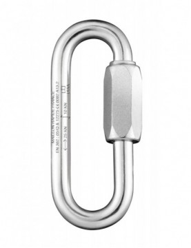 Oval 10mm Long - Stainless Steel