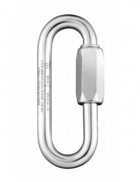 Long Zinc Coated Steel - Oval 10mm