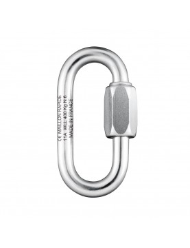 Oval 4mm - Stainless Steel