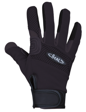 Gloves Rope Tech Black (various sizes)